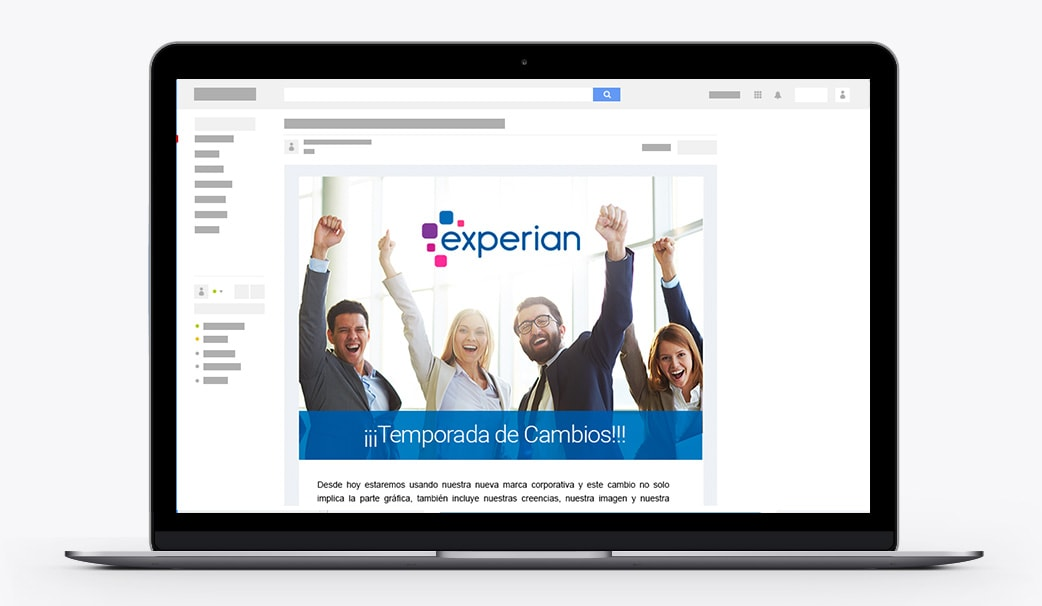 Emailing Experian 01